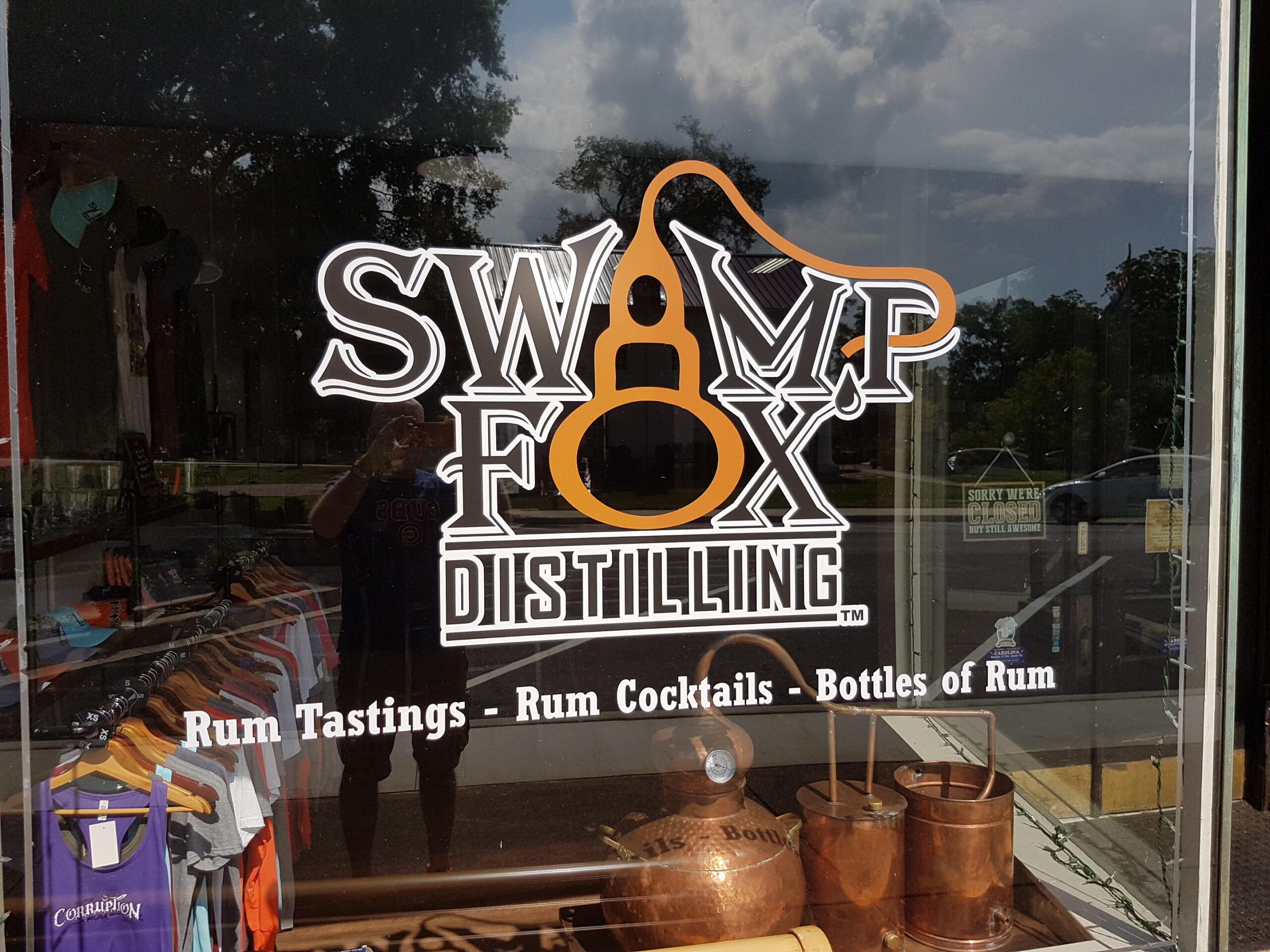 Swamp Fox Distilling logo
