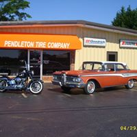 Pendleton Tire Company storefront